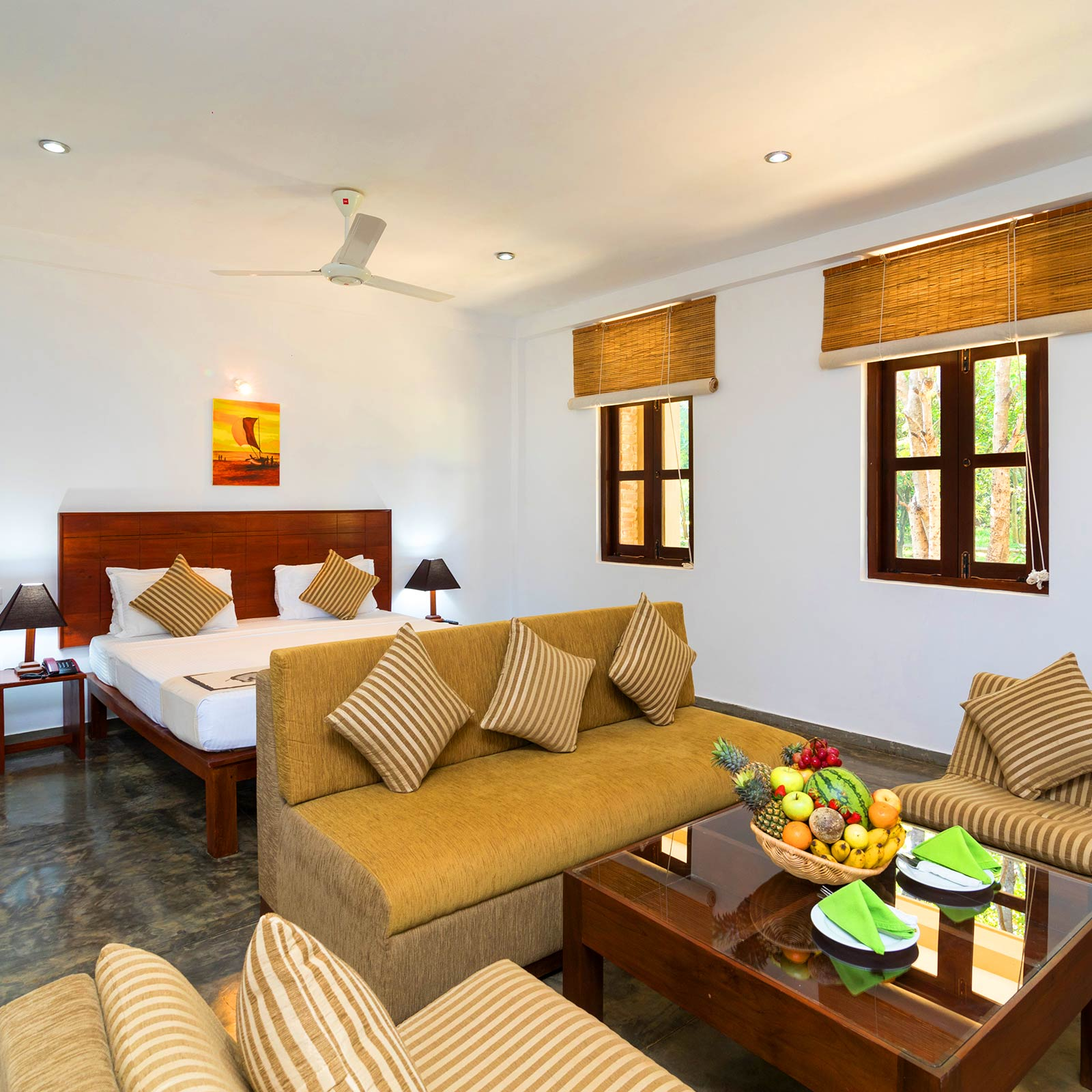 Camellia Resort Rooms